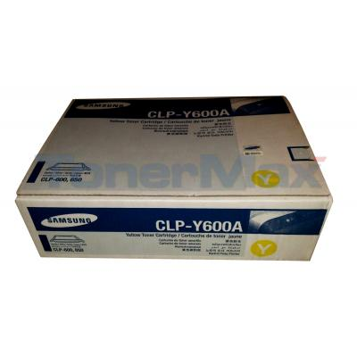 SAMSUNG CLP-600 TONER CARTRIDGE YELLOW